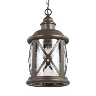 Reviews Falmouth 1-Light Outdoor Hanging Lantern By Breakwater Bay