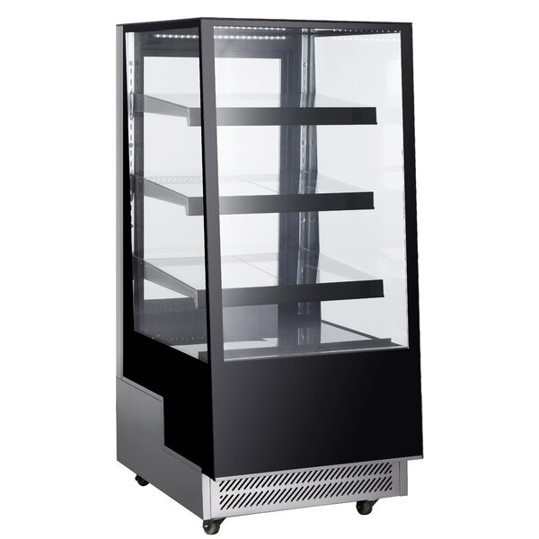 Commercial Standing Wheeled Display Cooler 10.6 cu. ft. All-Refrigerator by EQ Kitchen Line