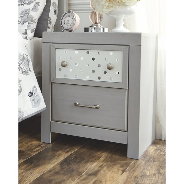 Porto 2 Drawer Nightstand by Latitude Run