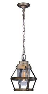 Inexpensive Articombe 1-Light Outdoor Pendant By Longshore Tides
