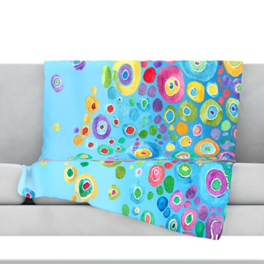 Charli Ultra Microfiber Fleece Blanket by Viv + Rae