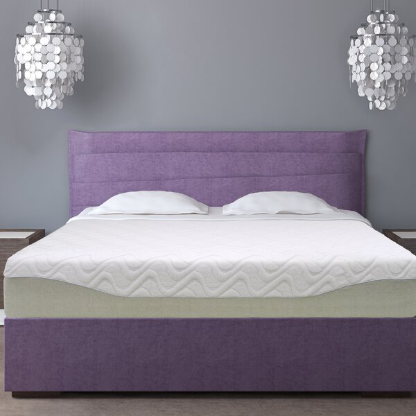 11 Medium Gel Memory Foam Mattress by Alwyn Home