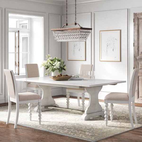 Jaclin 5 Piece Extendable Dining Set by Kelly Clarkson Home Kelly Clarkson Home