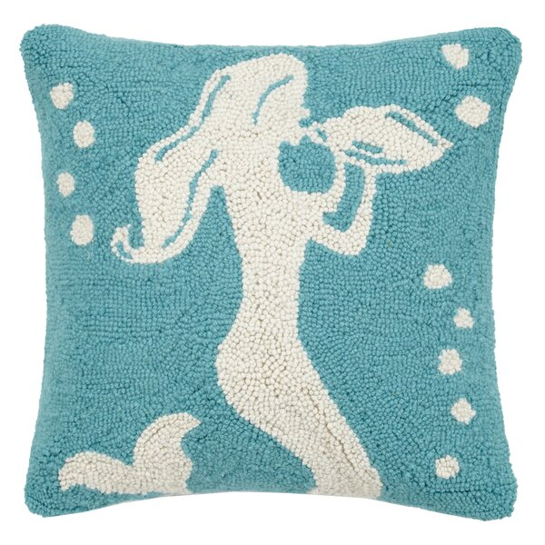 Peking Handicraft Green Star Hook Pillow