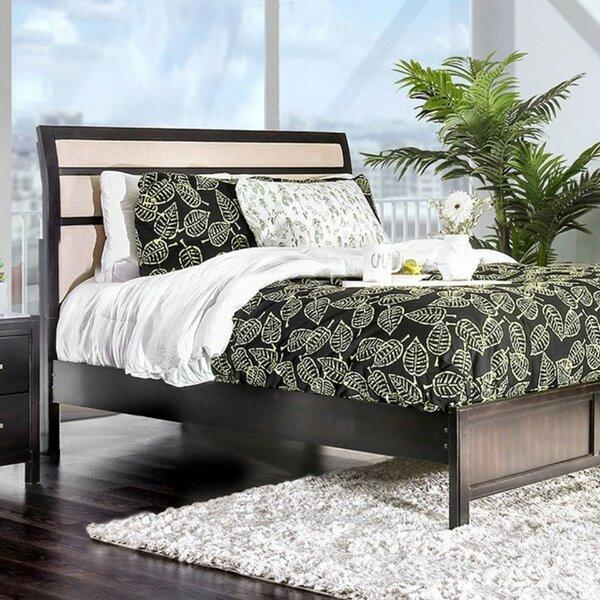 Sanroman Upholstered Platform Bed by Red Barrel Studio