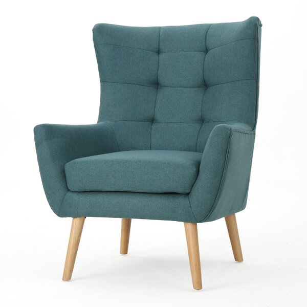 Paxton Wingback Chair by Trule Teen Trule Teen