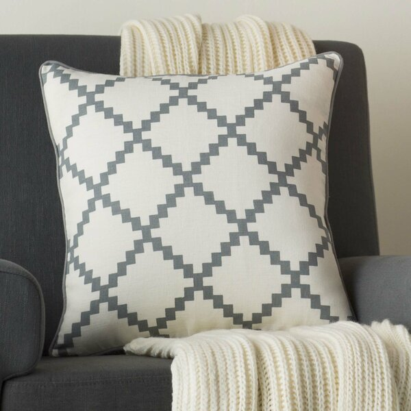 Nob Hill Throw Pillow by Three Posts