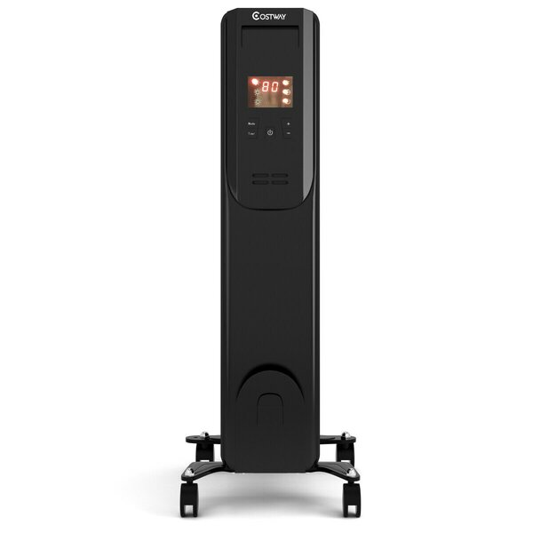 Free S&H 1,500 Watt Electric Convection Radiator Heater With Remote Control