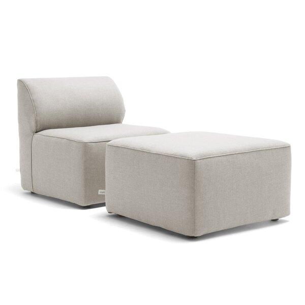 Big Joe Orahh Patio Sofa with Sunbrella Cushions by Big Joe Big Joe
