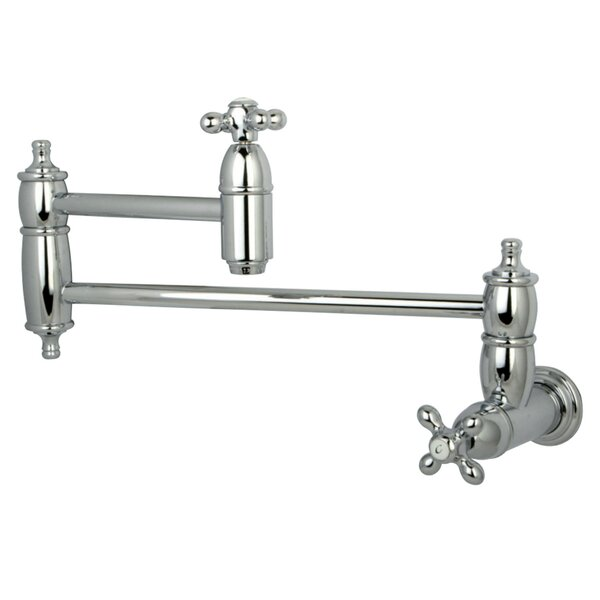 Restoration Wall Mount Pot Filler by Kingston Brass