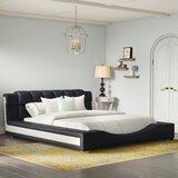 Augu Upholstered Platform Bed byOrren Ellis