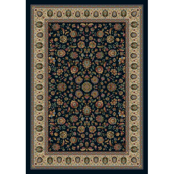 Signature Persian Palace Sapphire Area Rug by Milliken