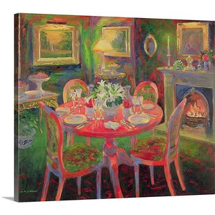 The Dining Room Ca2000 By William Ireland Painting Print