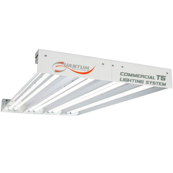 Quantum T5 8 Bulb Fixture by Hydrofarm