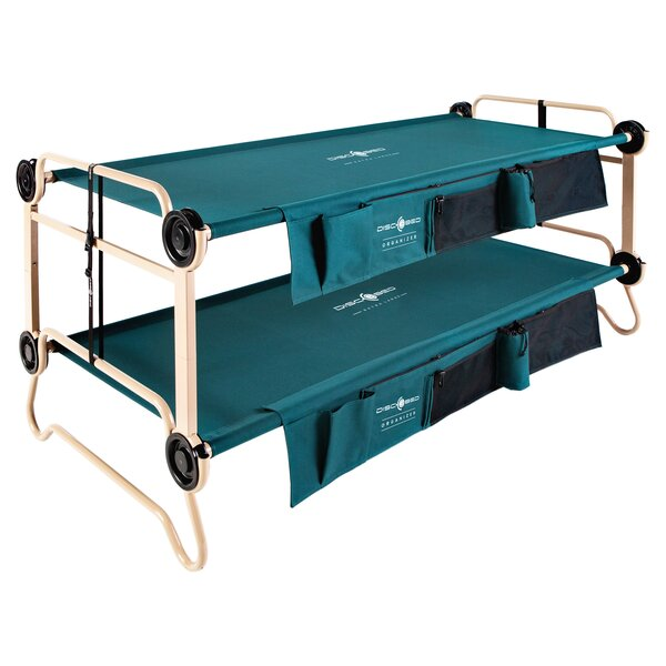 Bunkable Disc O Bed Portable Cot By Disc O Bed.