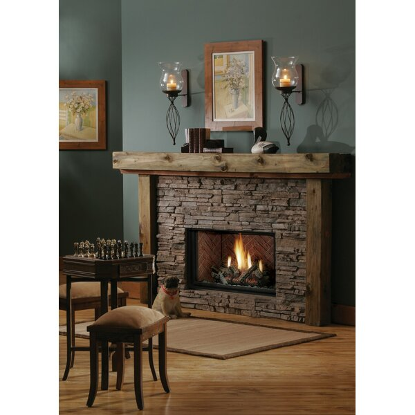 Direct Vent Natural Gas/Propane Fireplace Insert By Kingsman Fireplaces