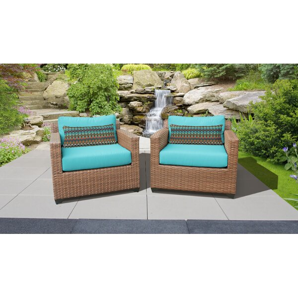 Waterbury Patio Chair with Cushions (Set of 2) by Sol 72 Outdoor Sol 72 Outdoor