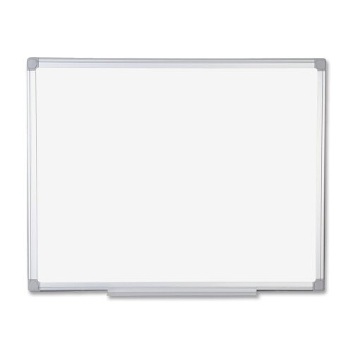 Wall Mounted Whiteboard, 36 x 48 by Bi-silque Visu