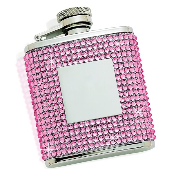 Flask with Plate by Creative Gifts International