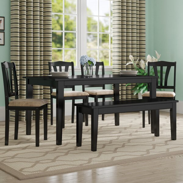 Hysell 6 Piece Dining Set by Alcott Hill