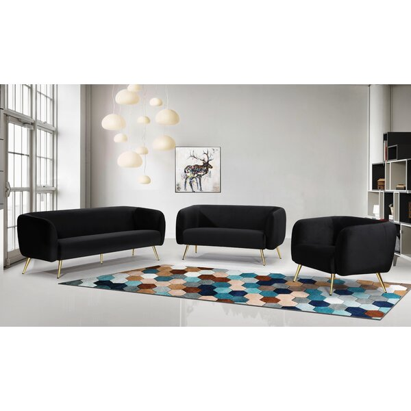 Harlow Configurable Living Room Set by Everly Quinn