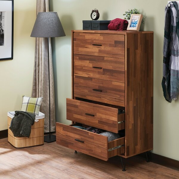 Lanita 5 Drawer Chest by George Oliver
