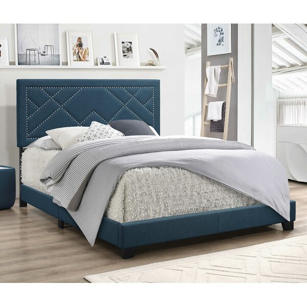 Cota Upholstered Standard Bed by Everly Quinn