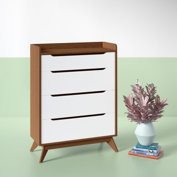 Cravens 4 Drawer Chest by Hashtag Home