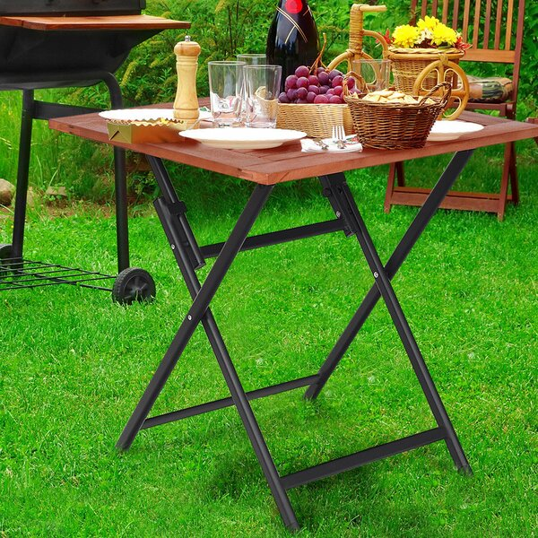 Wilmot Folding Dining Table by Bay Isle Home