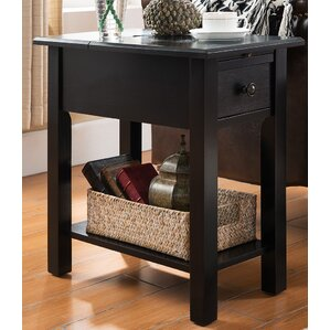 Lundgren End Table With Storage� by Andover Mills