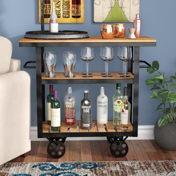 Livingston Bar Cart by Trent Austin Design Trent Austin Design