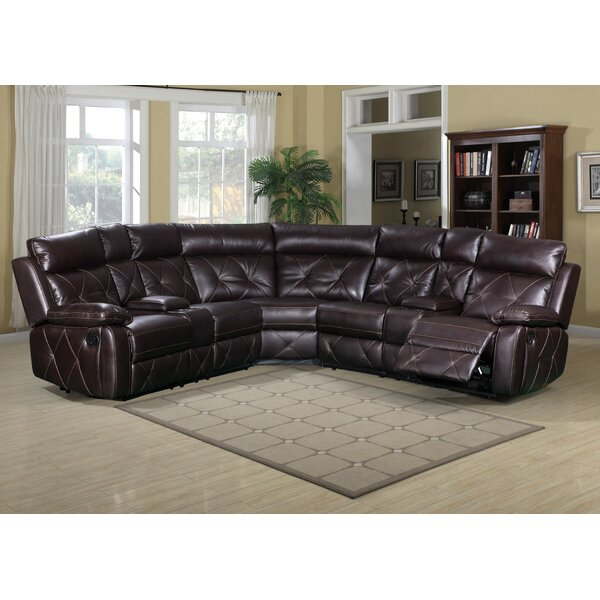 Cairns Reclining Sectional By Darby Home Co New Design