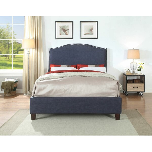 Huntsberry Queen Upholstered Platform Bed by Alcott Hill