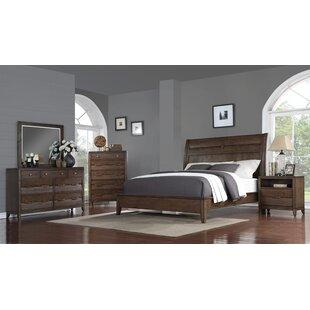 rodriquez queen sleigh configurable bedroom set by union rustic - Rustic Bedroom Set
