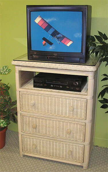 Pavilion Solid Wood TV Stand For TVs Up To 32