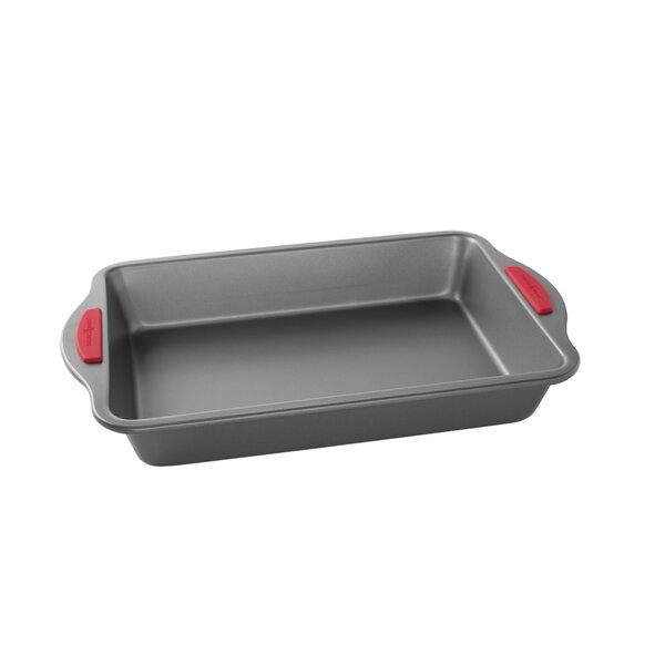Freshly Baked Non-Stick Rectangular Cake Pan by Nordic Ware