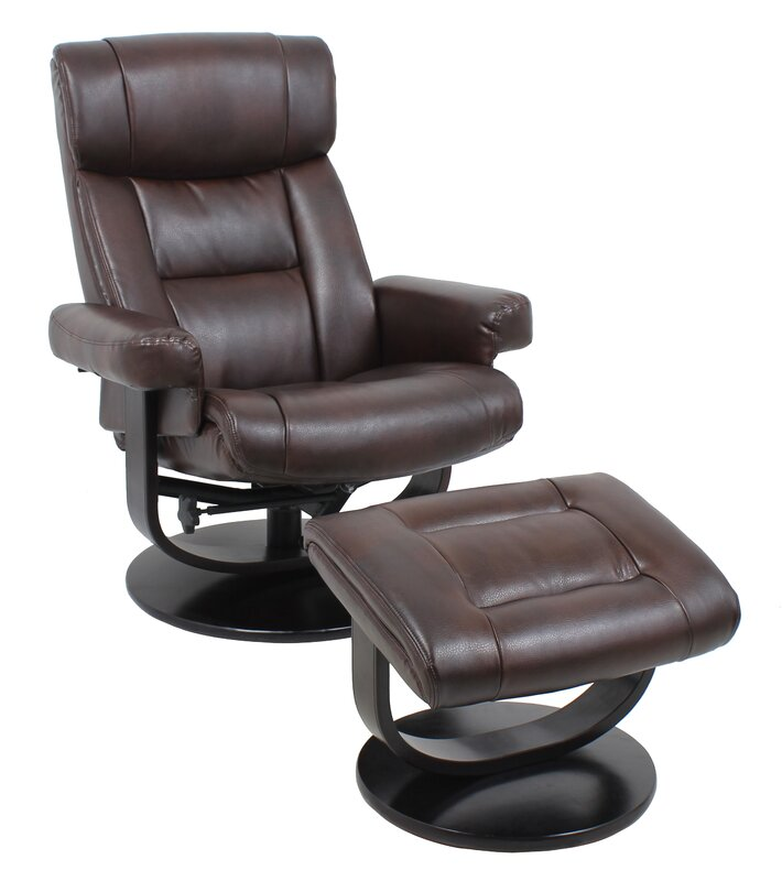 default_name - Global Furniture Manual Swivel Recliner With Ottoman & Reviews