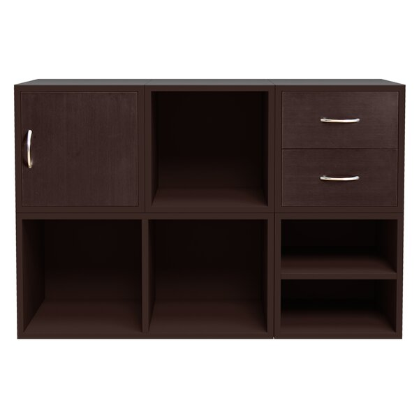 Carrabba Storage Cube Unit Bookcase by Hazelwood Home