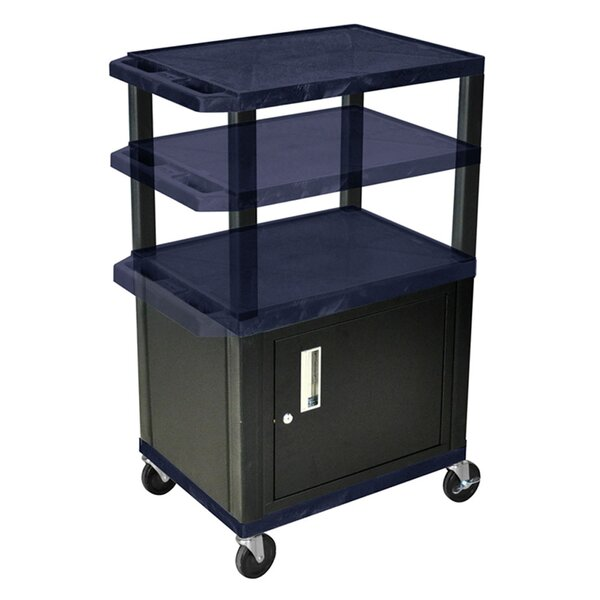 Tuffy Adjustable Height AV Cart by Offex