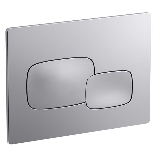Pebble Flush Actuator Plate by Kohler