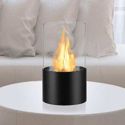 Circum Ventless Bio-Ethanol Tabletop Fireplace By Ignis Products
