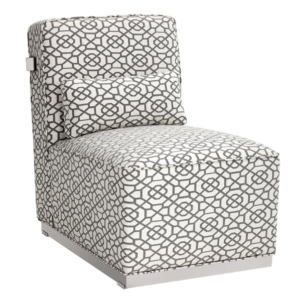 Brosnan Slipper Chair by Sunpan Modern