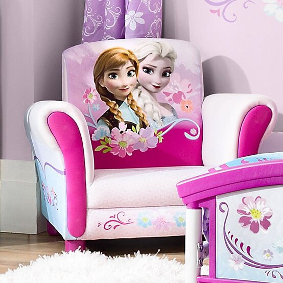 Disney Frozen Kids Upholstered Club Chair by Delta Children