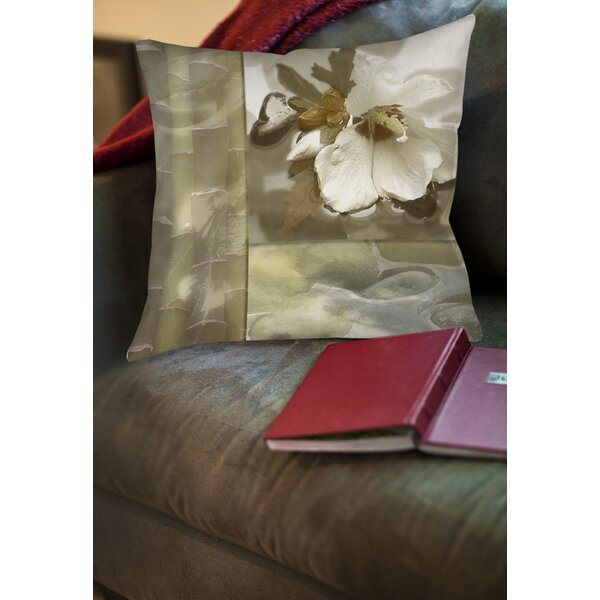 Natural Elements 2 Printed Throw Pillow by Manual Woodworkers & Weavers