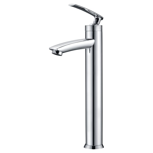 Fifth Single Hole Bathroom Faucet with Drain Assem