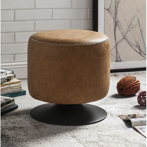 Burger Vintage Ottoman by Union Rustic
