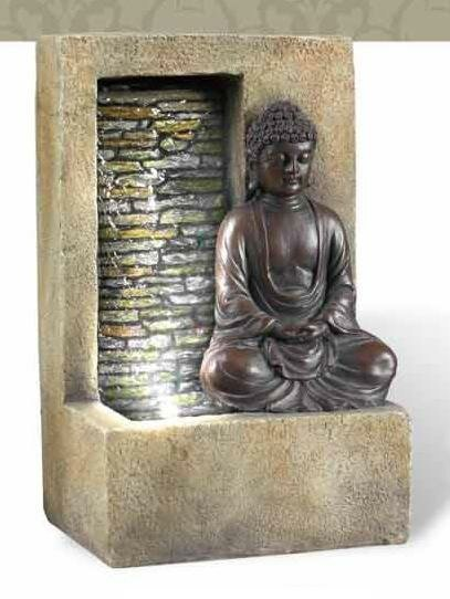 Buddha Tabletop Fountain by Sintechno
