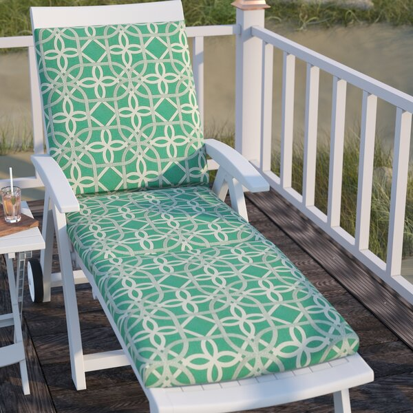 Marissa Indoor/Outdoor Chaise Lounge Cushion by Andover Mills