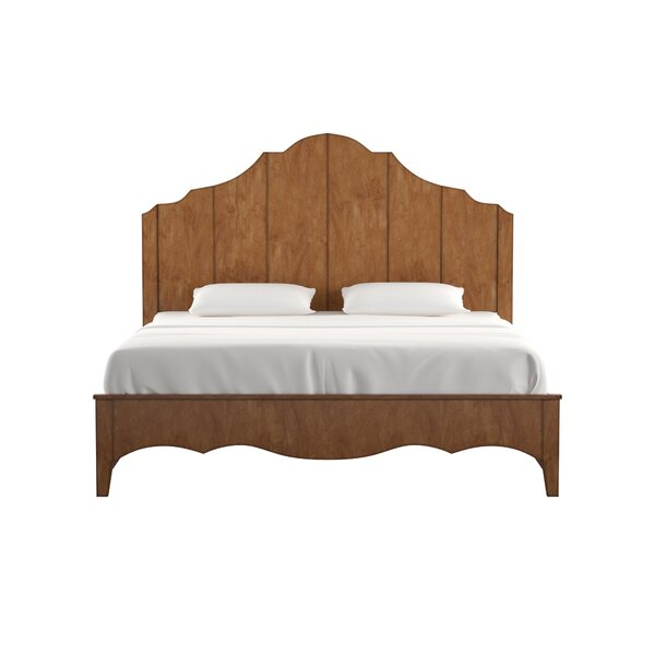Woodside Scalloped Storage Platform Bed by Three Posts