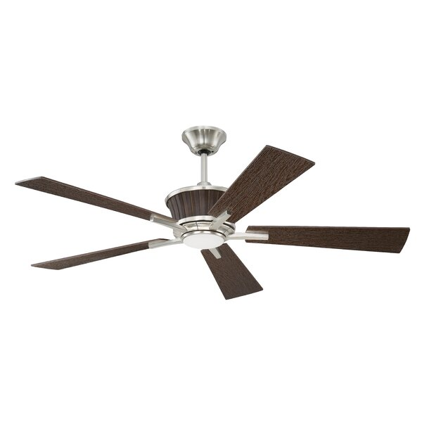 52 Faulkner 5 Blade Ceiling Fan with Remote by Darby Home Co